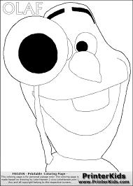 frozen coloring pages printerkids disney pixar frozen olaf