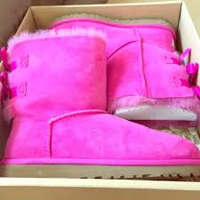 light purple bailey bow uggs 18 off ugg shoes pink bailey bow s poshmark