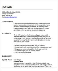Examples Of Great Sales Resumes by Best Sales Resume Free U0026 Premium Templates