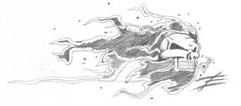 ghostrider tattoo by stephenhuda on deviantart