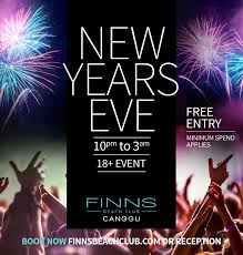 where to party for new years new years at finns club honeycombers bali