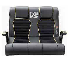 buy x rocker duel vs double gaming chair collect in store at argos