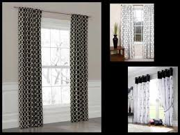 Black Grey And White Curtains Ideas Black And White Curtains Design Ideas Pictures