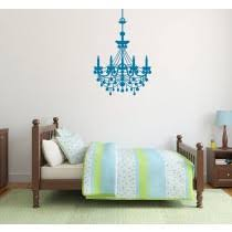 Chandelier Wall Decal Artistic Wall Decals Categories