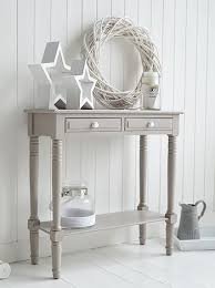 bedroom console table oxford grey small console table storage living hall and bedroom