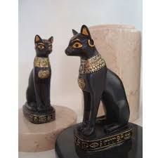 cat urn cat urn bastet perched marble
