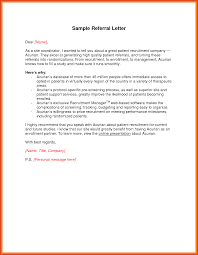 Client Referral Letter Template Referral Letter Moa Format