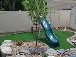 Patio Artificial Grass Green Lawn University Park New Mexico Paver Patio Backyard Designs