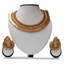 beads necklace sets images Artificial jewellery india design gold necklace wholesale JPG