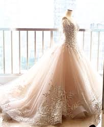 wedding dress designer jakarta peachy white wedding dress for desiana suwanto ritz carlton