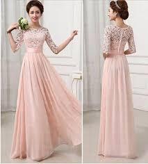 Pink Wedding Dresses With Sleeves Slay In Chiffon U2013 My Wedding Nigeria