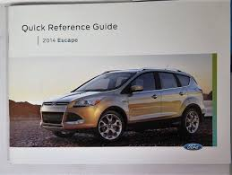 2014 ford escape owners manual ford amazon com books