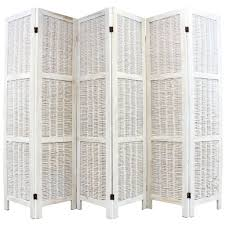 Wicker Room Divider Shabby Chic Wicker Room Divider Screen 6 Panel Room