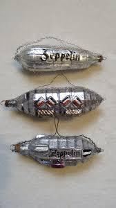 german patriotic wwi ornaments zeppelin airship