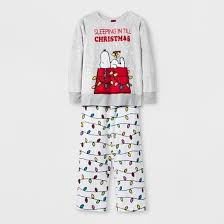 peanuts worldwide snoopy set with gift bag pajama set