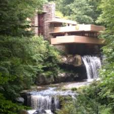 Falling Water House by Falling Water Frank Lloyd Wright House Fayette County