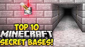 Floor Plans Secret Rooms by Top 10 Best Minecraft Secret Bases Minecraft Secret Rooms