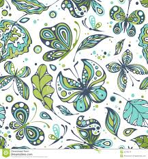 seamless pattern of leaves royalty free stock photo image 34588955