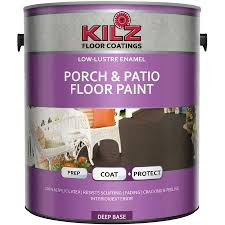 kilz porch and patio floor paint gallon walmart com