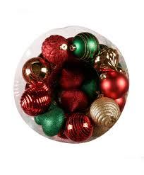 deck the halls 100 piece christmas ornament set tree classics