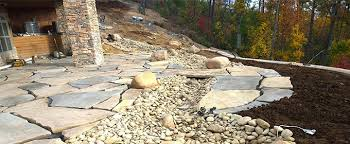 Flagstone Patio Installation Knoxville Landscaping Projects And The Best Time Of Year To Do