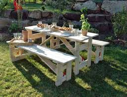 Wooden Bbq Table Plans Howtospecialist by 25 Unique Folding Picnic Table Plans Ideas On Pinterest Folding