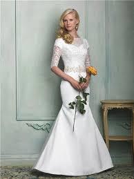 slim mermaid sweetheart short sleeve beaded lace satin wedding