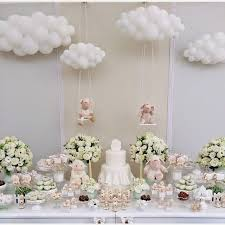 neutral baby shower decorations decoração cristine reis white garden baby shower