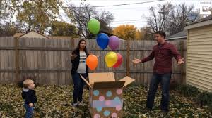 gender reveal balloons shocked when balloon store mixes up order for gender reveal