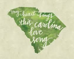 South Carolina Home Decor Carolina Love Etsy