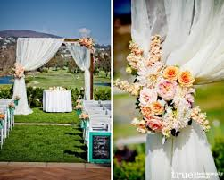 outdoor wedding ceremony arch decorations archives weddings