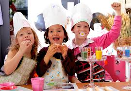 cours de cuisine enfants création anniversaire atelier pâtisseries interieur
