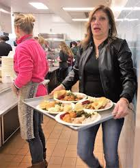 home marianita from licc riverhead food and servicec boutique at annual thanksgiving community dinner in riverhead volunteers
