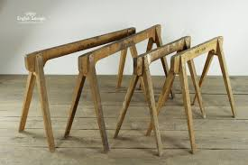 wooden trestle table legs pairs of wooden trestle table legs