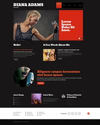 singer responsive wordpress theme 47939