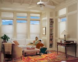 interior window treatments for transom windows with ceiling fan