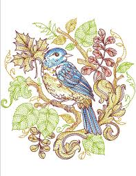 autumn baroque collection machine embroidery designs by sew swell