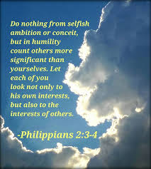 Bible Verse Memes - philippians 2 3 4 bible verse of the day