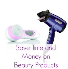 how to save time and money on beauty products conair live love
