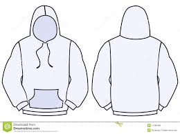 hoodie vector template royalty free stock photos image 11389488
