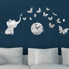 popular stickers wall clock buy cheap stickers wall clock lots