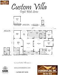 4 bedroom 2 bath floor plans pre designed floor plans usmodular inc modular home builders