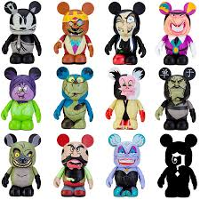 disney halloween figurines vinylmation villains full set i want those for my collection