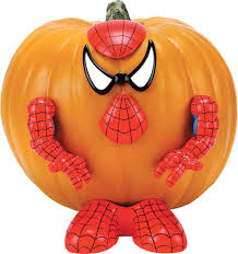 amazon com spider man pumpkin push in kitchen products patio