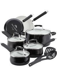 paula deen savannah collection 12 pc nonstick cookware set