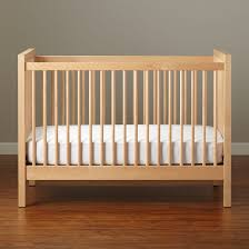 nursery cherry wood crib for baby bed design
