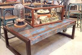 How To Make Reclaimed Wood Coffee Table Reclaimed Wood Steel Coffee Table Hacked By Mrsqar