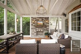 screened porch garage oasi porch companythe porch company enclosed
