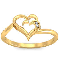 ring gold demira jewels 14kt gold ring 100 certified buy demira jewels 14kt
