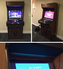 Tankstick Cabinet Plans Mame Arcade Cabinet U2013 John Berry